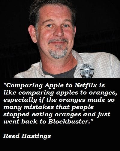 Reed Hastings's quote #1