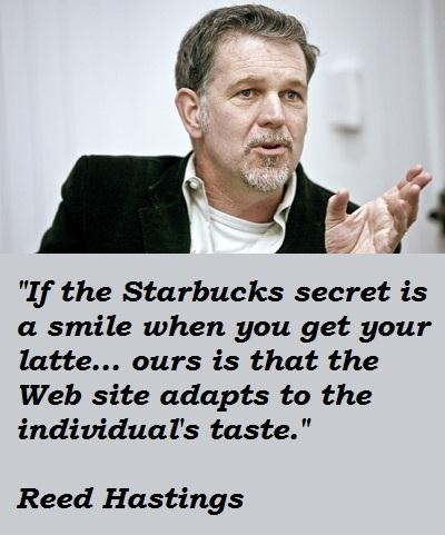 Reed Hastings's quote #3