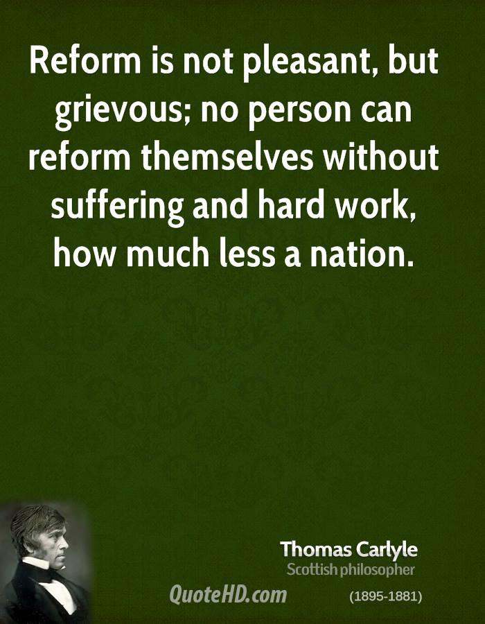 Reform quote #6