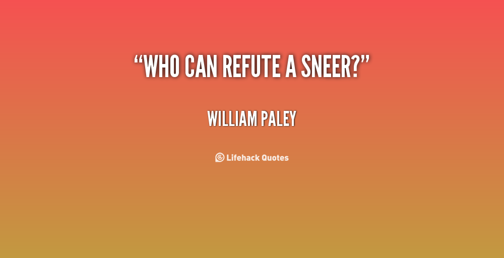 Refute quote #1