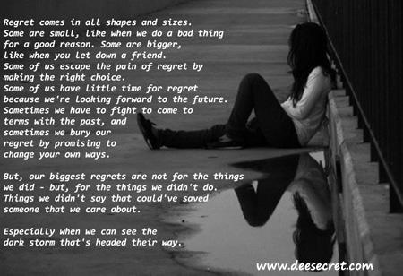 Regrets quote #4