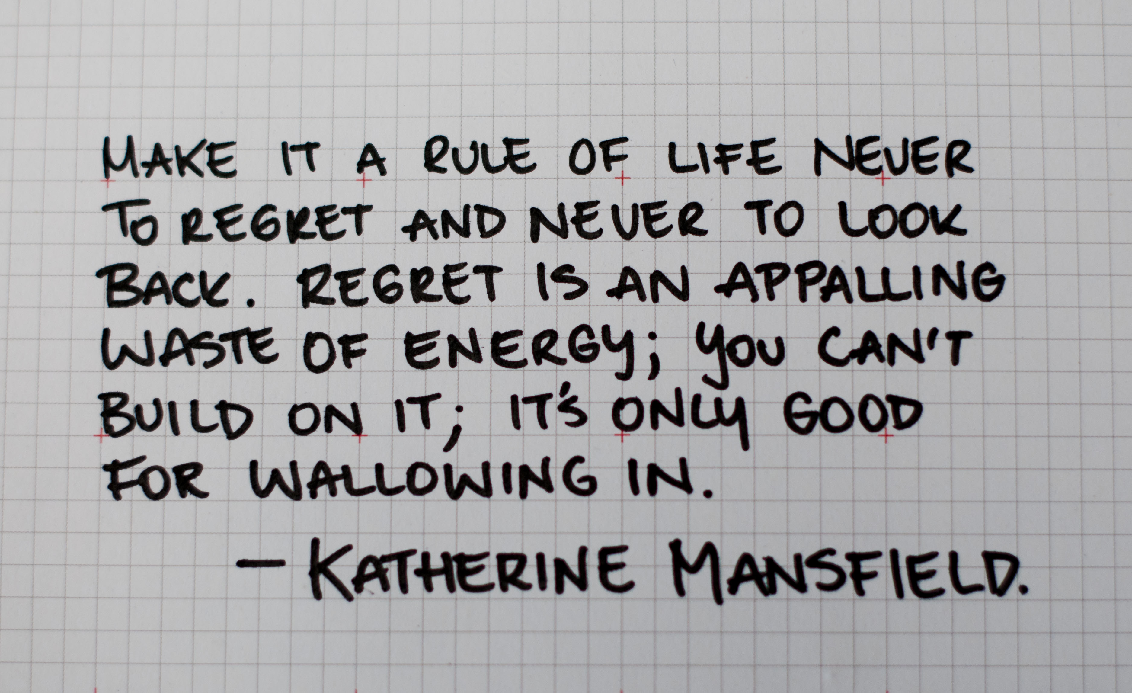 Regrets quote #6