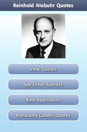 Reinhold Niebuhr's quote #3
