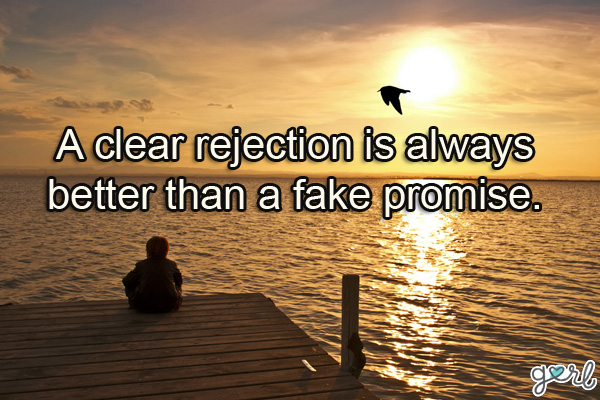 Rejection quote #6