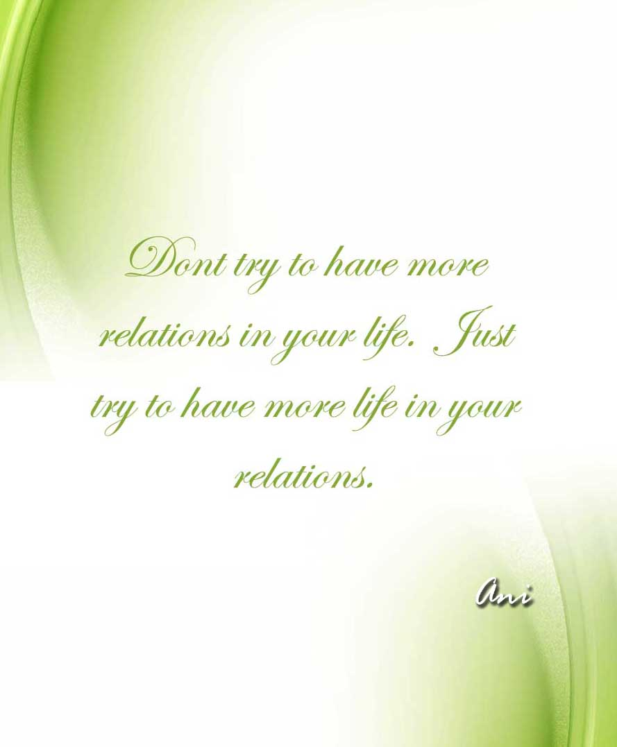 Relations quote #1