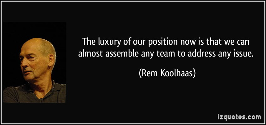 Rem Koolhaas's quote #5