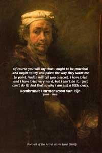 Rembrandt quote #1