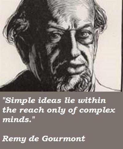 Remy de Gourmont's quote #2
