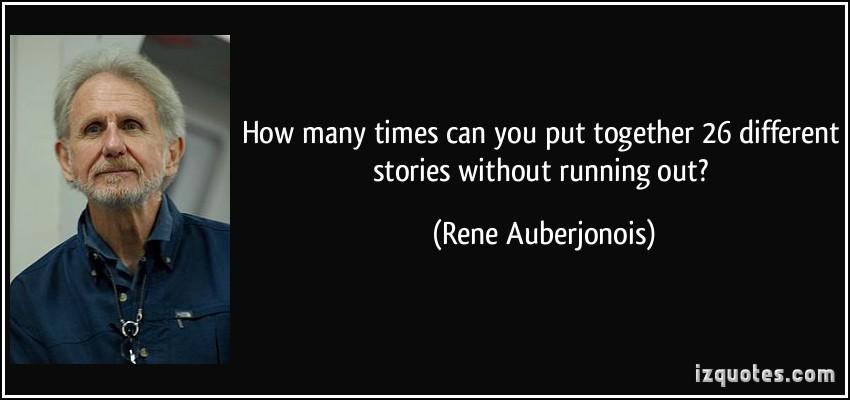 Rene Auberjonois's quote #8