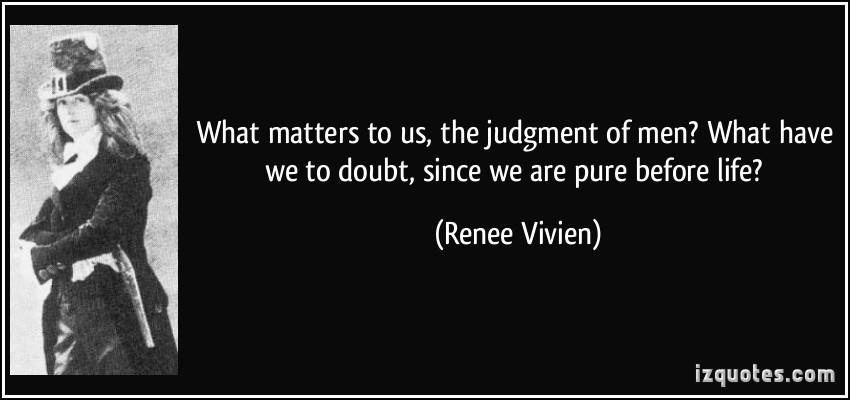 Renee Vivien's quote #1