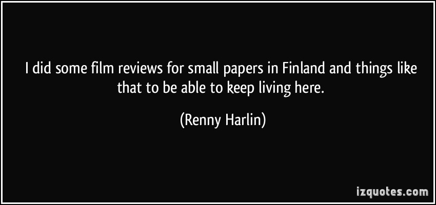 Renny Harlin's quote #2