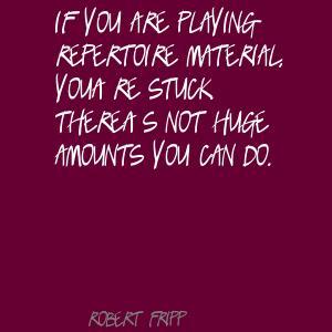 Repertoire quote #1