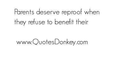 Reproof quote #2