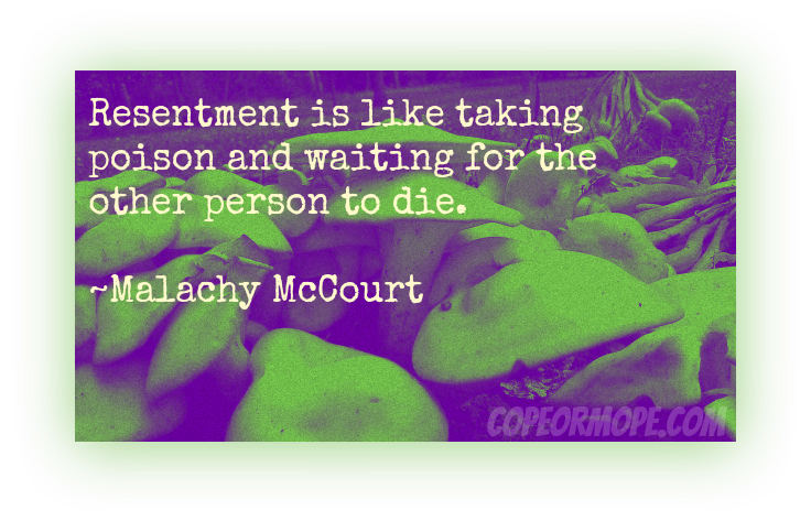 Resentment quote #1