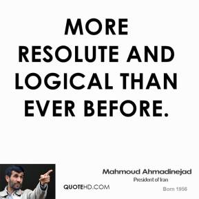 Resolute quote #1