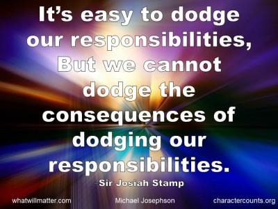 Responsibilities quote #1