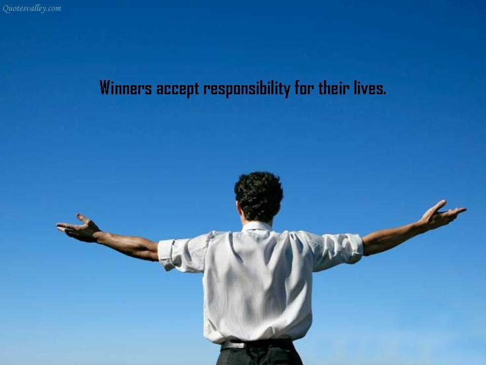 Responsibility quote #2