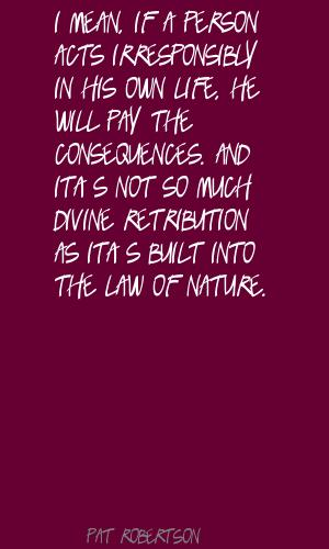 Retribution quote #2