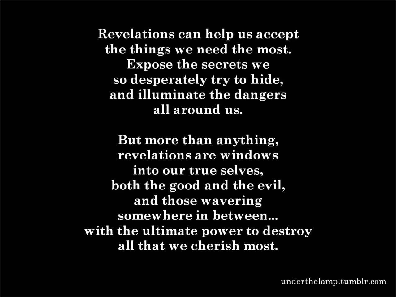 Revelations quote #1