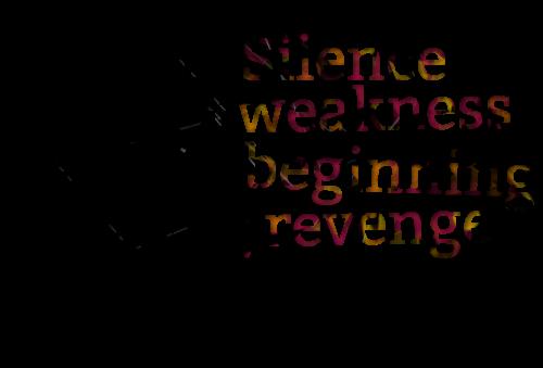 Quotes About Revenge: Famous Quotes About 'Revenge'
