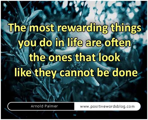 Rewarding quote #4