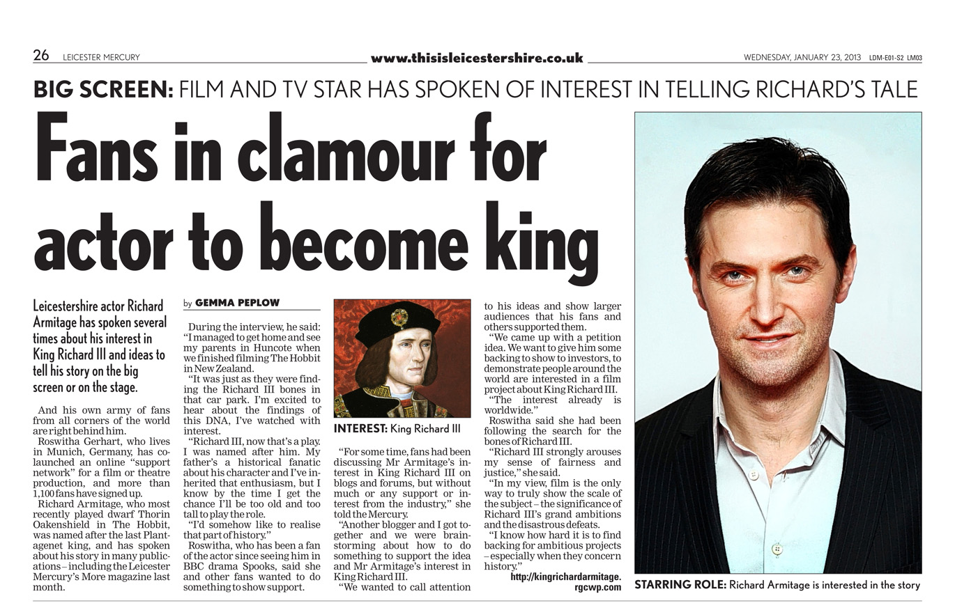 Richard Armitage's quote #2