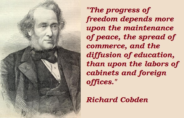 Richard Cobden's quote #1