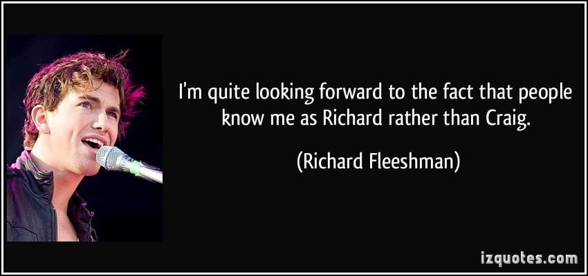 Richard Fleeshman's quote #3