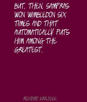 Richard Krajicek's quote #3