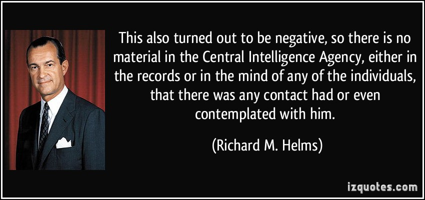 Richard M. Helms's quote #2