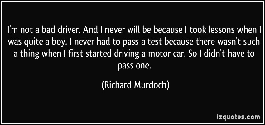 Richard Murdoch's quote #1
