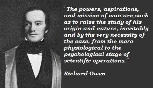 Richard Owen's quote #1
