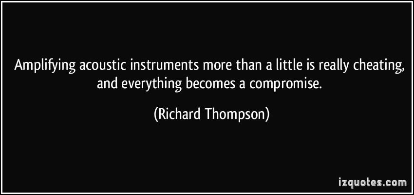 Richard Thompson's quote #2