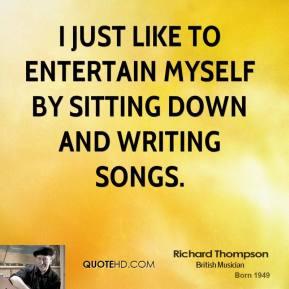 Richard Thompson's quote #5