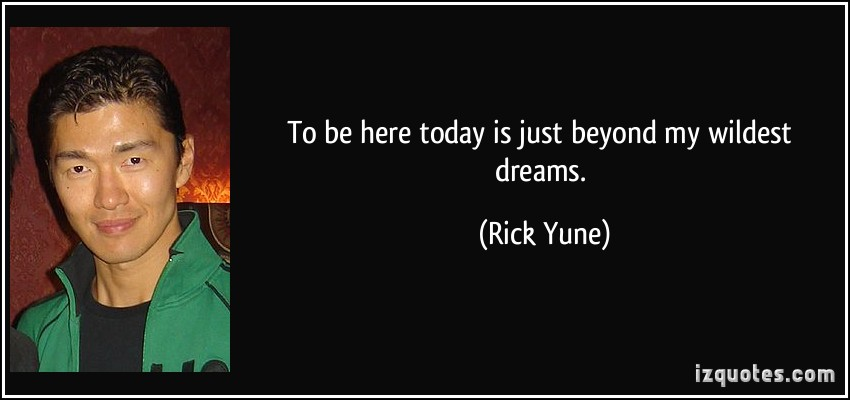 Rick Yune's quote #7