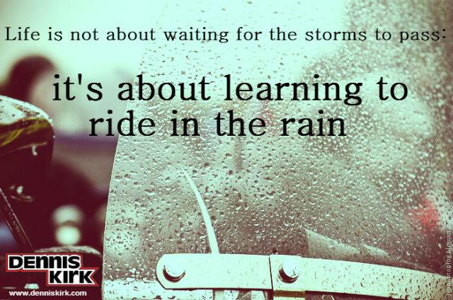Rider quote #1