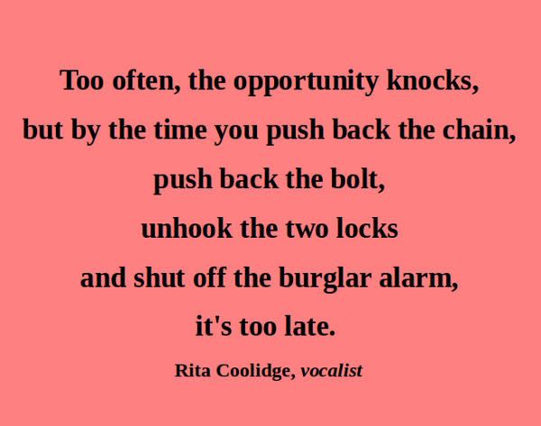 Rita Coolidge's quote #1