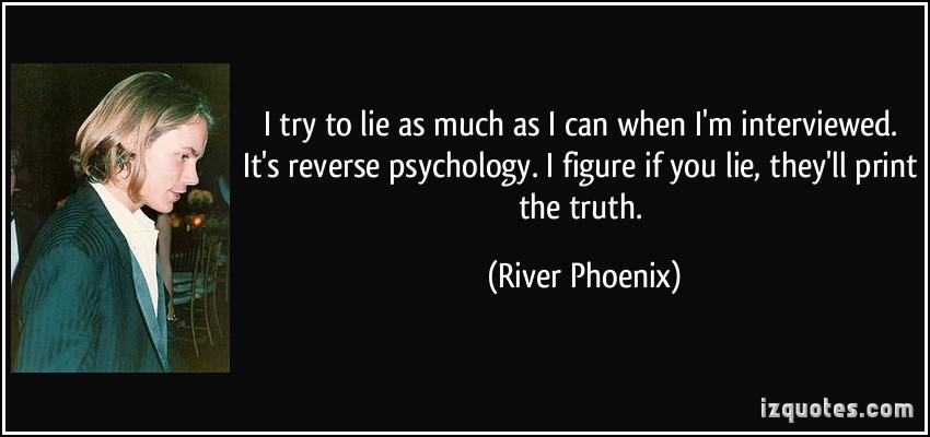 River Phoenix's quote #1