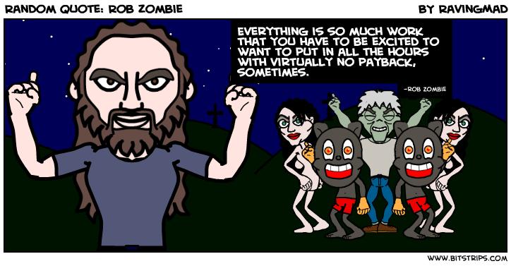 Rob Zombie's quote #3