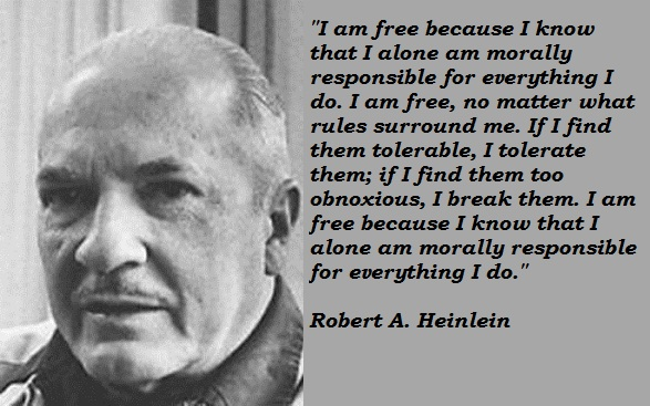Robert A. Heinlein's quote #3