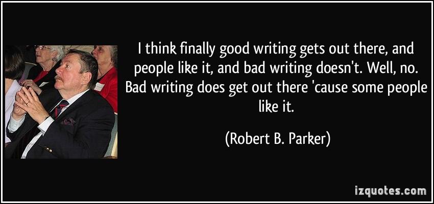Robert B. Parker's quote #2