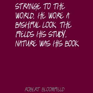 Robert Bloomfield's quote #3