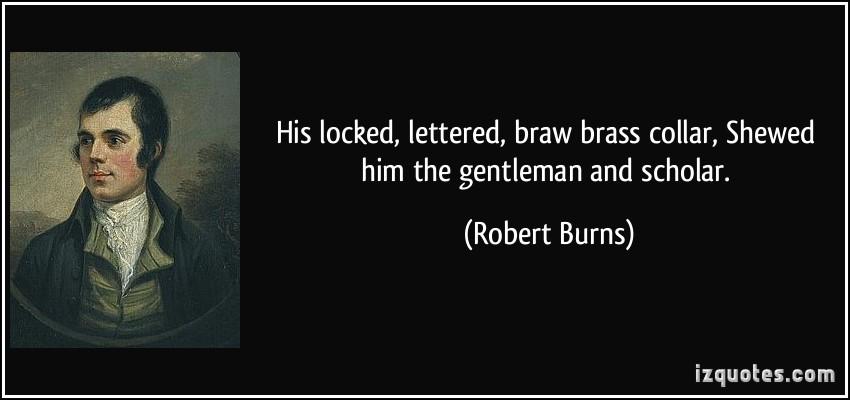 Robert Burns's quote #2