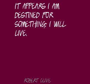 Robert Clive's quote #1