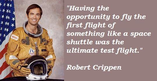 Robert Crippen's quote #3