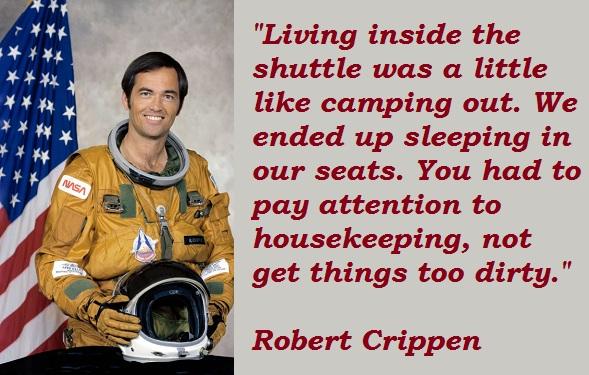 Robert Crippen's quote #4