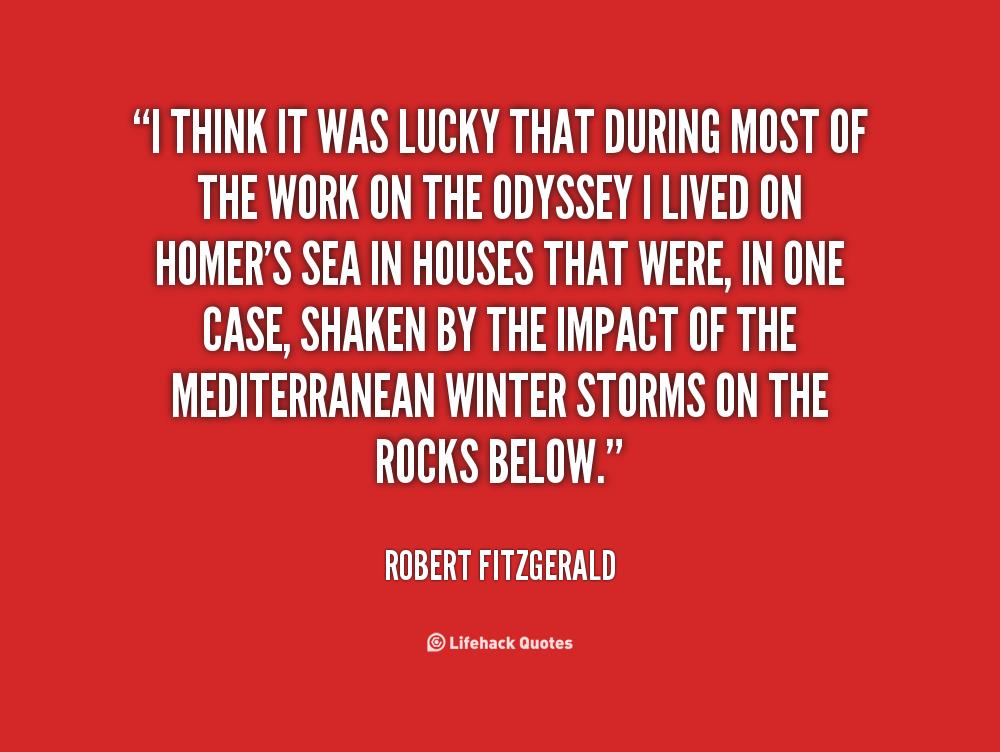 Robert Fitzgerald's quote #3