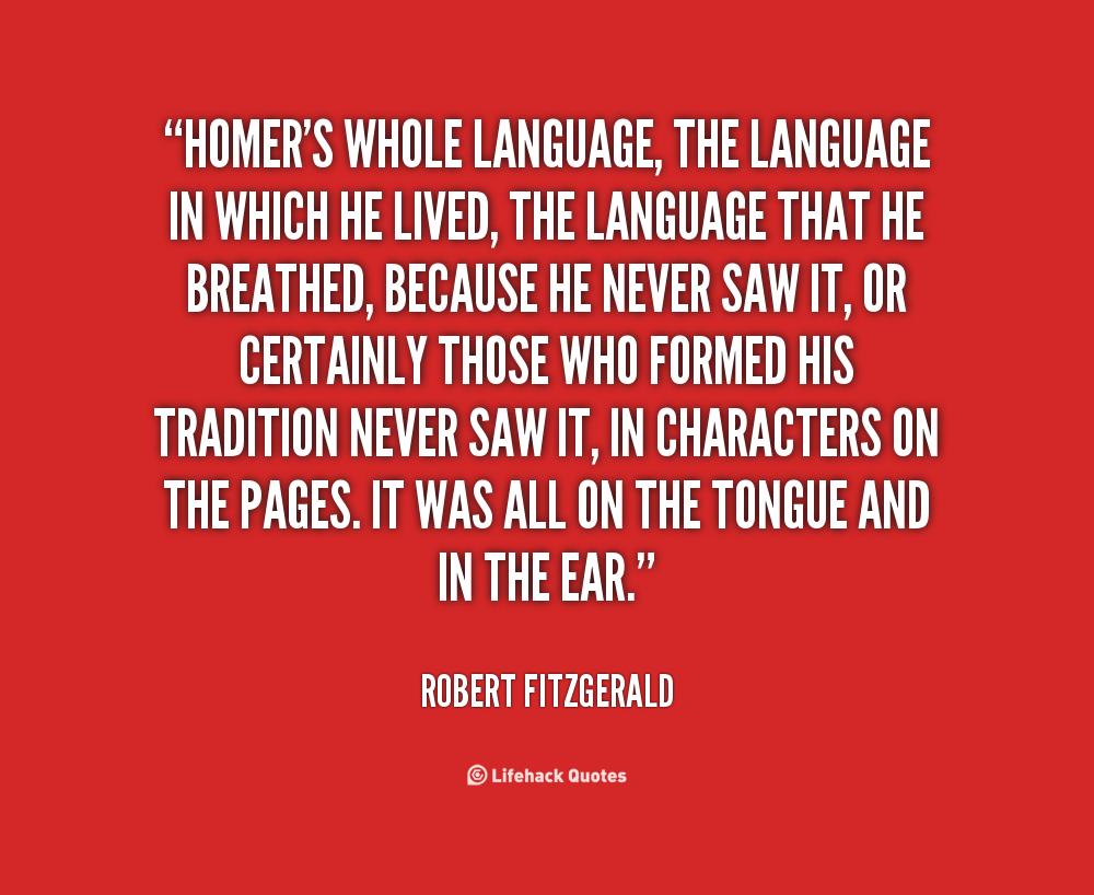 Robert Fitzgerald's quote #5