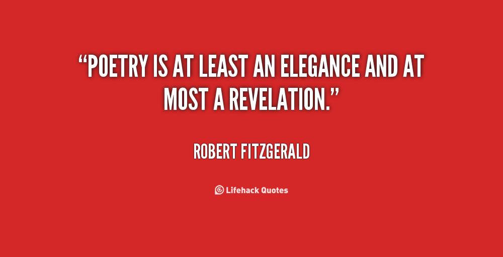 Robert Fitzgerald's quote #2