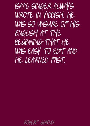 Robert Giroux's quote #1